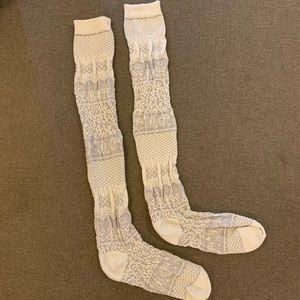 Free People Knee-High Socks